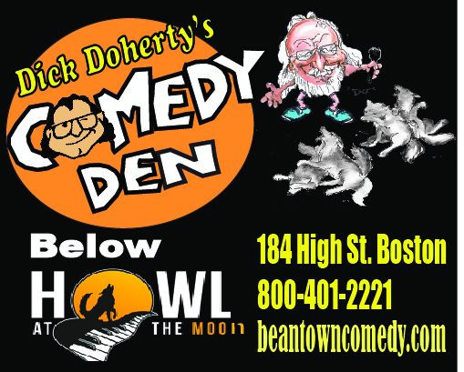 From Hong Kong to Boston-Ceisler and Doherty Team up once again with Comedy July 4th & 5th!